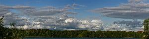 Domek nadjeziorem- Panorama na jezioro Czos